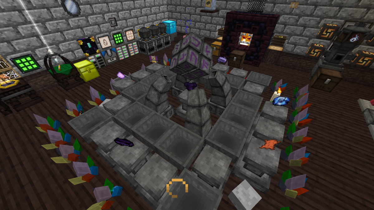 thaumcraft 4 how to make an infusion altar
